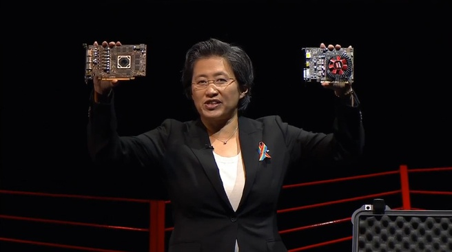 Lisa Su AMD line-up