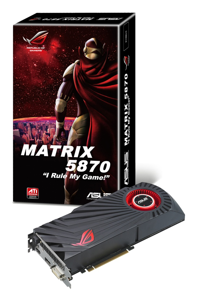 Asus HD 5870 Matrix 2GB