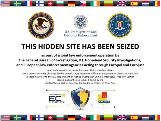 Silk Road 2.0 seized