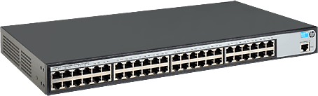 HP Procurve 1620-8G L2 Switch (48 x 10/100/1000Base-T, Webmanage)