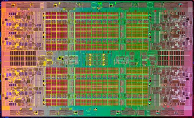 Intel Itanium 9500 die-shot