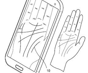 Samsung-patent handlijnen