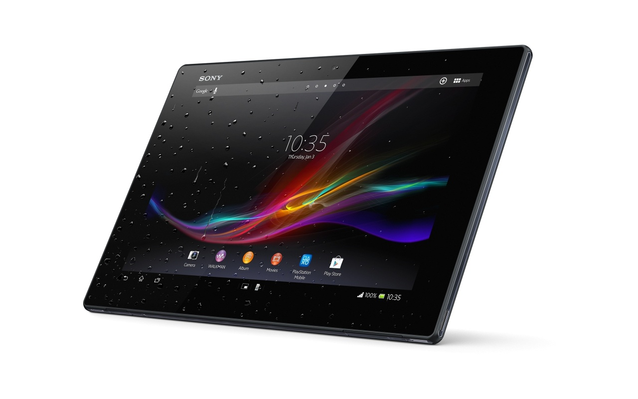 Sony Xperia Tablet Z WiFi + 4G 16GB Zwart