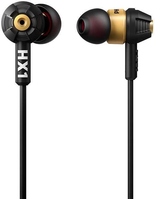 Philips Headphones SHX10/00 (Goud, Zwart)
