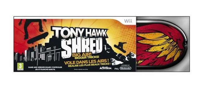 Tony Hawk: Shred (Bundel), Wii