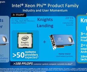 Intel Omni Path en Xeon Phi Knights Landing