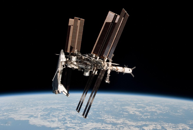 Space Shuttle ISS