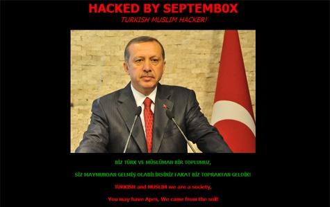 Website Geert Wilders gehackt