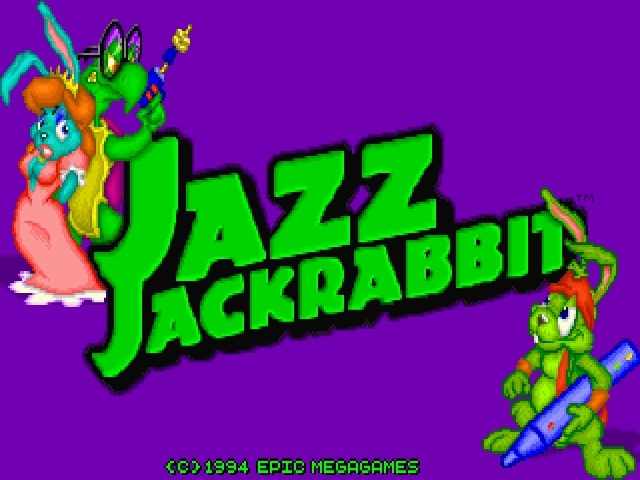 Splash screen Jazz Jackrabbit