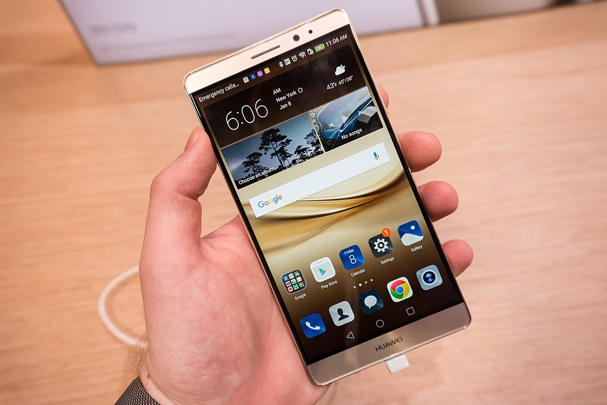 Huawei Mate 8 Preview Tweakers