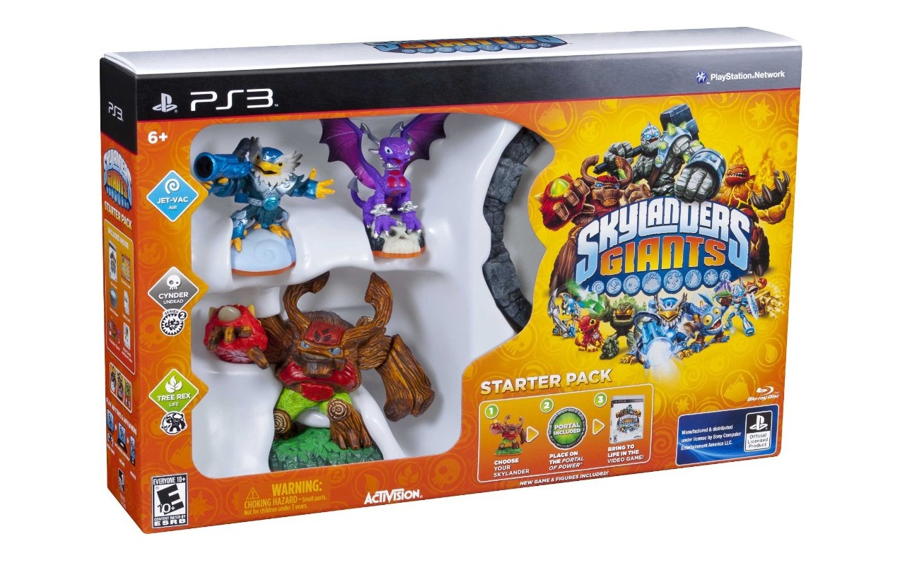 Skylanders: Giants Starter Pack, PlayStation 3