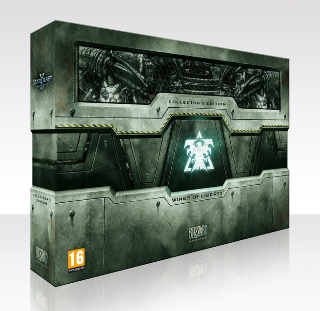 StarCraft II (collectors edition)