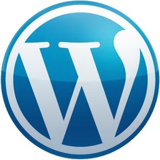 WordPress logo (Über)