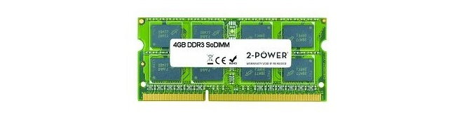 2-Power 4GB DDR3 1066MHz SODIMM