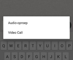 Whatsapp videobellen