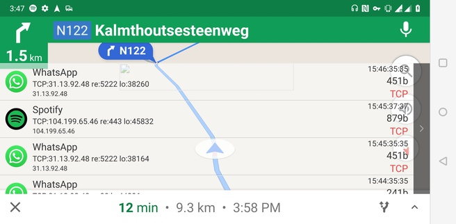 Roaming en 4g Google Maps Kalmthout