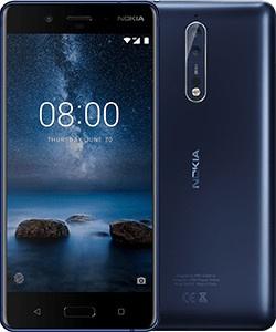 Nokia 8 Glossy Blauw