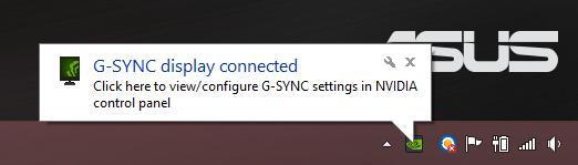 G-Sync Asus ROG laptop