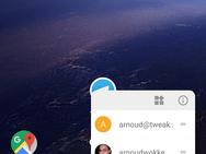 Screenshot Android O-bèta