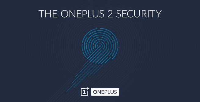 OnePlus 2 vingerafdrukscanner