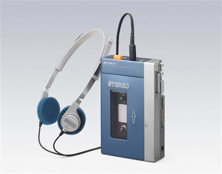 De eerste Sony Walkman: TPS-L2, uit 1979