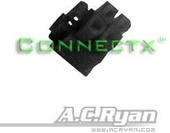 AC Ryan ACR-CB7648 ATX 4pin Female P4 12V Connector (Zwart)
