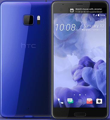 HTC U Ultra Blauw