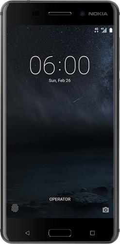Nokia 6 3GB RAM, 32GB ROM Zwart
