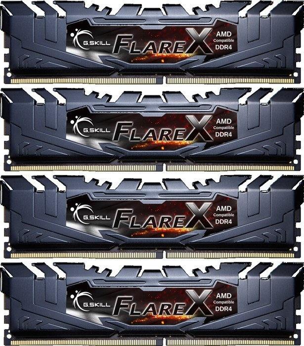 G.Skill Flare X F4-2400C16Q-64GFX