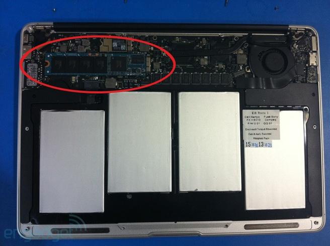 Gelekte MacBook Air