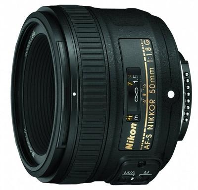 Nikon AF-S 50mm f/1.8G Nikkor