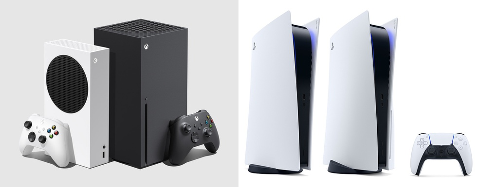 Xbox Series X en S en PlayStation 5