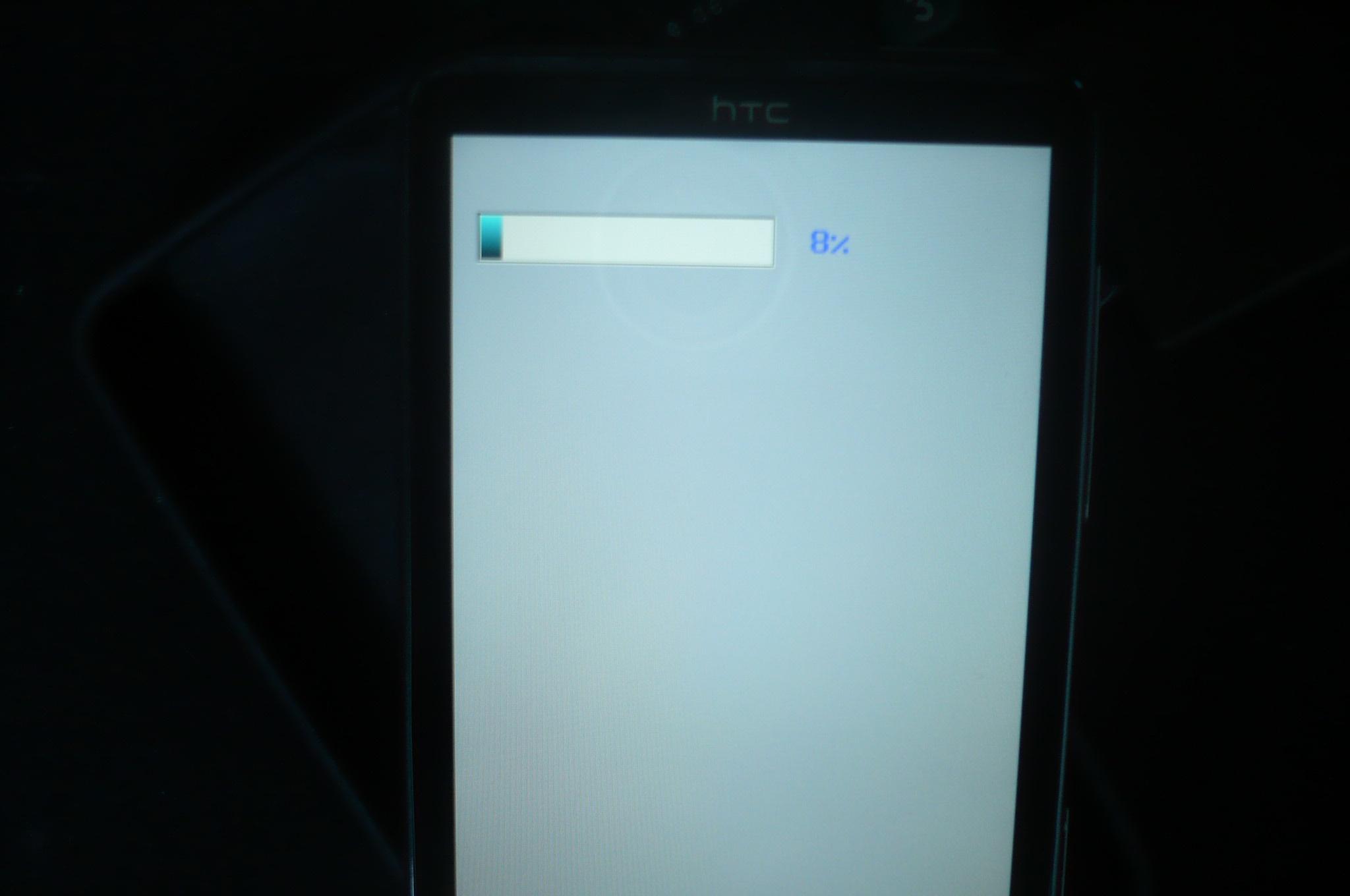 HD7 aan het flashen