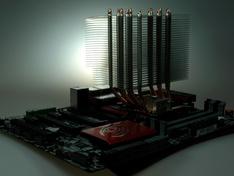 koelerblok gemonteerd overzichtsfoto II