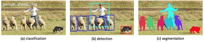 Classificatie, detectie, segmentatie beeld