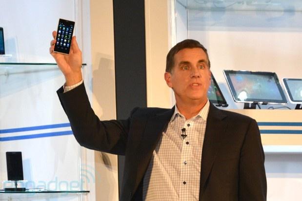 Intel-smartphone met Merrifield