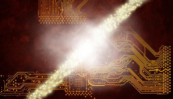 Dit is geen optische transistor