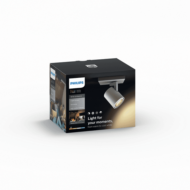 Philips Hue Runner spot wit (White Ambiance, excl DIM switch)