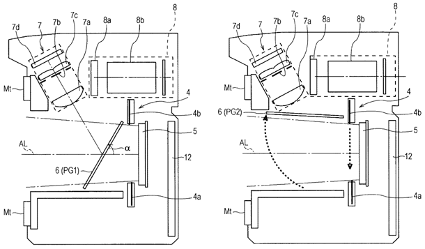 Sony patent mirror lockup alpha slt camera