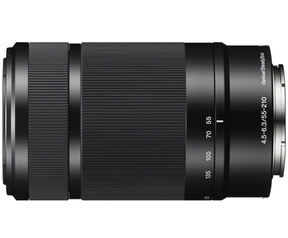 Sony 55-210mm Zoom Lens Zwart