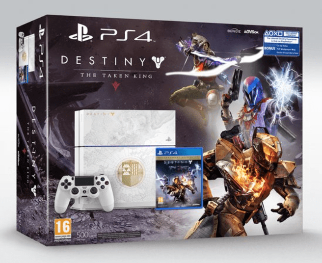 Sony PlayStation + Destiny: The Taken King (Limited Edition) Zwart