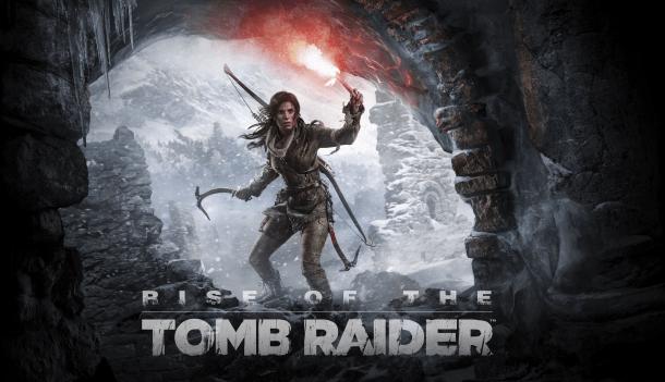 Rise of the Tomb Raider screenshot/logo