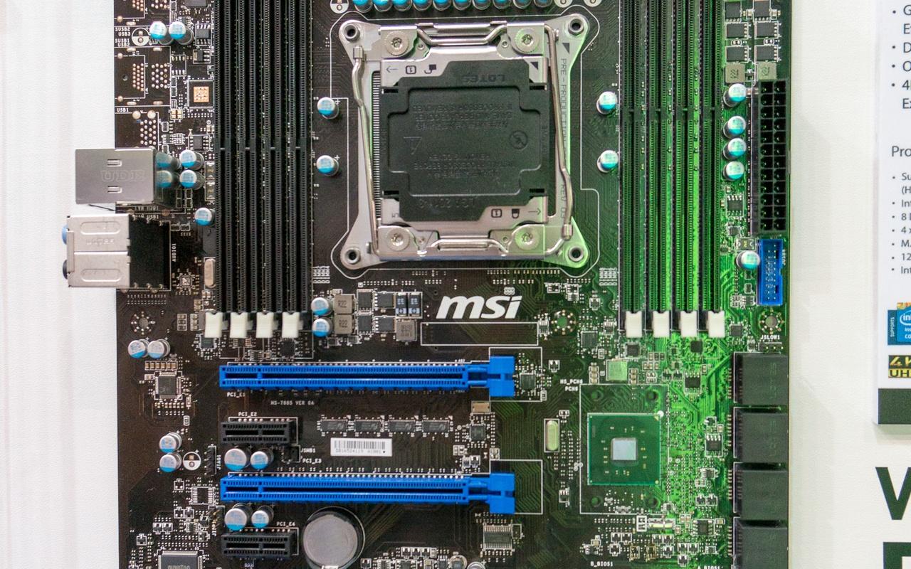 MSI X99-moederbord