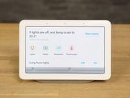 Google Home Hub-interface