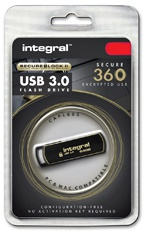 Integral 32GB Secure 360 Encrypted USB3.0