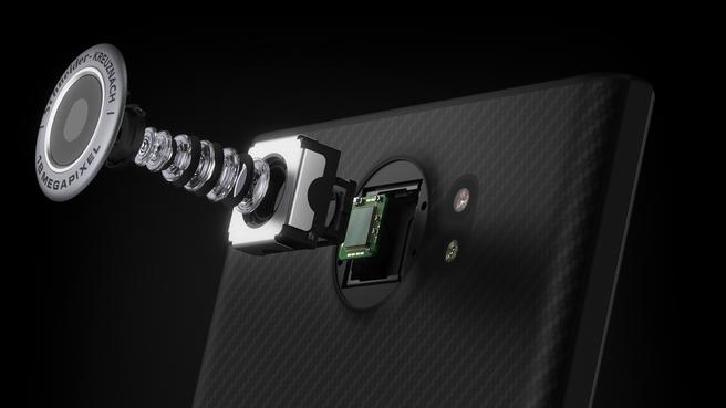 BlackBerry Priv Camera