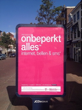 T-Mobile-reclame