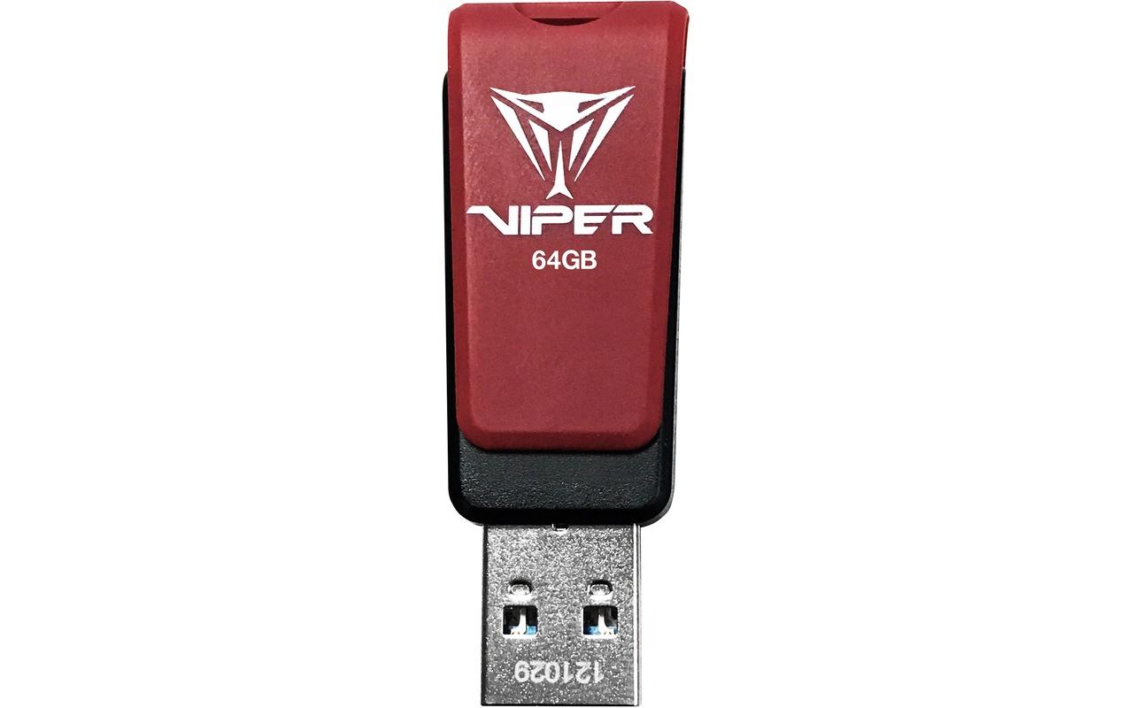 Patriot Memory Viper USB 3.1 64GB Rood