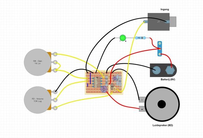 .Build - Ruby Amp - Schema en aansluitingen