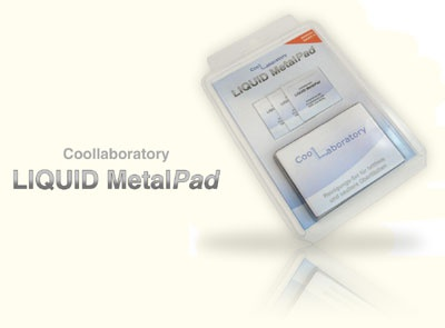 Coollaboratory Liquid Metal Pad PS3 - XBOX360